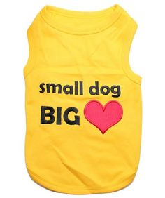 Parisian Pet Small Dog Big Heart Dog T-Shirt, Medium: Its dog apparel with attitude! Our Doggie T-Shirts feature a fun embroidered message. Excellent gift for dogs and dog lovers. Girl Dog Clothes, Cute Dog Clothes, Small Dog Clothes, Pet Puppy, Pet Dogs, Dog Boutique, Heart Shirt, Whimsical Fashion, Girl And Dog