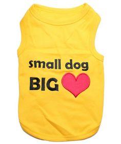 Parisian Pet Small Dog Big Heart Dog T-Shirt, Large - http://www.thepuppy.org/parisian-pet-small-dog-big-heart-dog-t-shirt-large/