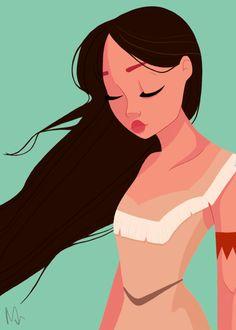 Pocahontas by millyjanpoc