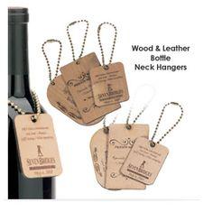 Wine Neck Labels | Elegant Bottle Neck Hangers
