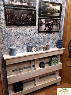 No te pierdas esta enorme recopilación de imágenes de muebles hechos con palets y descubre cuánta creatividad hay detrás de este material.