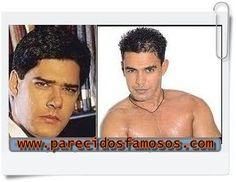 Parecidos con famosos: Brasileños William Bonner con Zeze de Camargo