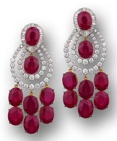 Diamond and Mozambique ruby…