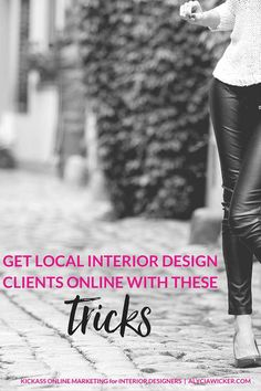 If you don't offer virtual interior design, you might be thinking that getting local interior design clients with your website is a joke. A 'bwahahaha' type of joke. But it's not. Stop laughing.