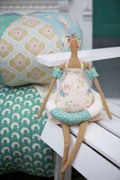 """Tilda doll - """"Swimming Girl"""""""