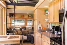 Capable de loger 2 à 8 personnes selon le modèle, l'Escape Traveler Cabin est une sorte de tiny house mobile. Boisées, lumineuses, ces petites maisons mobiles qui pullulent sur les routes amé…