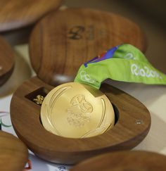 empaque medallas olimpicas