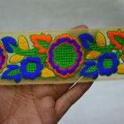 Embroidered Indian Trims, Sari Border Indian Laces