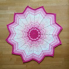 Ravelry: LBK63's 12 Point Star in Pink