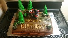 4 Wheeler birthday cake 2015