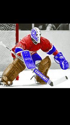 Hockey Helmet, Hockey Goalie, Montreal Canadiens, Field Goal Kicker, Goalie Mask, Hockey Stuff, Masked Man, Nhl, Legends