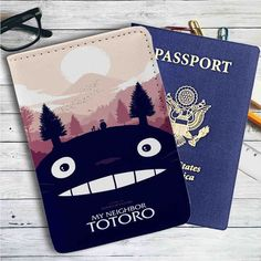 Image result for studio ghibli passport covers