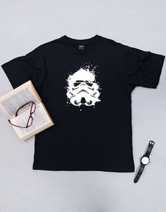 gifts: Personalised Star Wars T-Shirt! This Star Wars-themed gift was designed especially for fans of the franchise. Place your order ahead of time for Star Wars gift for him delivery, countrywide!