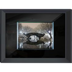 Benjamin Parker 'Bridge' Tempered -on- Wall Art