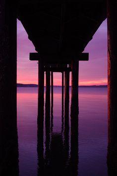 Sunset on Camano Island 1/1/2011