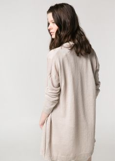 Thin linen cardigan for summer