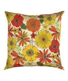 Look what I found on #zulily! Lily Indoor/Outdoor Pillow #zulilyfinds