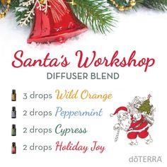 Santa's Workshop Diffuser Blend