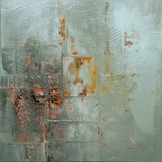 ARTFINDER: WINTER by Lucian Richards - Abstract. Acrylic on canvas.