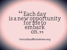 Daily Affirmations, Daily Affirmations 2014, Affirmations for Employees