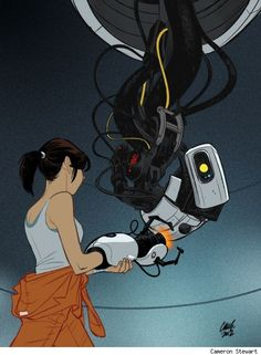 """""""We've both said some things that you're going to regret""""... - GLaDOS, Portal"""