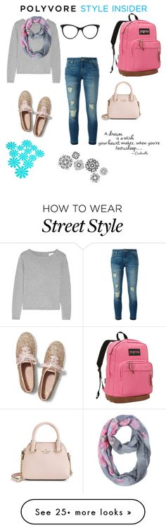 """How I would style this backpack "" by jennamaeve3 on Polyvore featuring JanSport, MICHAEL Michael Kors, Keds, Kate Spade, STELLA McCARTNEY, jcp, backpacks, contestentry and PVStyleInsiderContest"