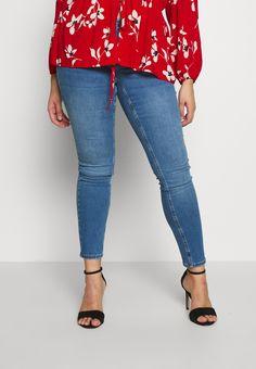 Zizzi LONG SANNA - Jean slim - light blue denim - ZALANDO.CH Jeans Slim, Skinny Jeans, Blue Denim, Light Blue, Pants, Fashion, Trouser Pants, Moda, Fashion Styles