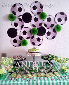 Soccer Party Fiesta Futbol CreativaPartyDesign                                                                                                                                                                                 Más