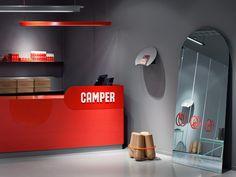 Шоу-рум обувной марки Camper в Стокгольме