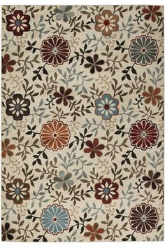 Fiora Area Rug - Synthetic Rugs - Area Rugs - Rugs | HomeDecorators.com
