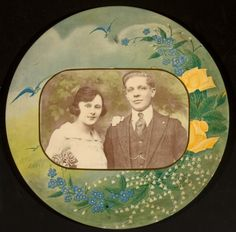 Celluloid Medallions, circa 1920    ~ Collection courtesy of George Eastman House, 900 East Avenue, Rochester, NY    http://www.thegipsyintheparlour.com/2013/02/celluloid-medallions.html