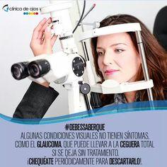 Algunas condiciones visuales no tiene sintomas como el glaucoma. Consulta a tu oftalmologo.