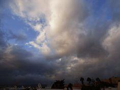 Canary Islands Photography: El Tablero de #Maspalomas con nubes clouds  GranCa...