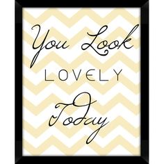 Framed giclee print with a chevron motif and typographic details.             Product: Wall art    Construction Materia...