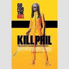 Danai Gurira in Kill Phil | twdnotofficial (IG)  Tags: #twd #thewalkingdead #walkingdead #twdparodyposters #michonne #danaigurira