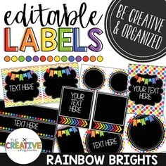 It is an image of Enterprising Free Printable Classroom Labels