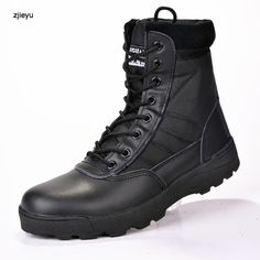 Basic Boots Bright 2018 New Men Military Bots Tactical Boots Desert Combat Outdoor Bot Army Hiking Boots Leather Autumn Ankle Boots Winter Boots
