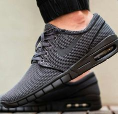 Sleek Black Nikes