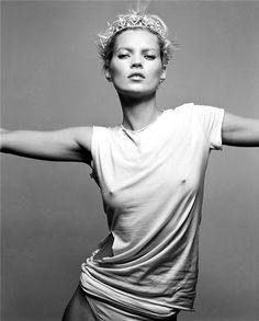 Kate Moss.  [ The T. CV ]