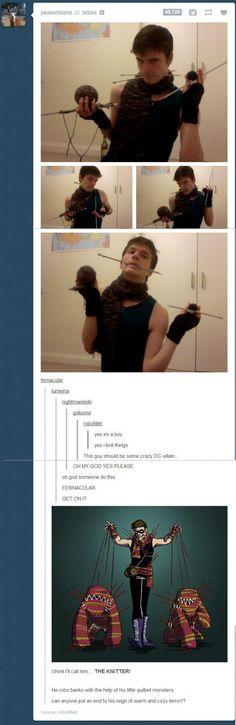 The knitter!