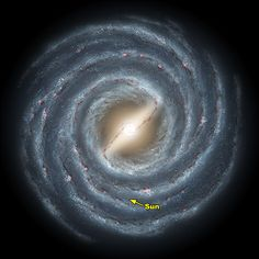 Our Milky Way Galaxy (Taken By Hubble Telescope) ... NASA Photo