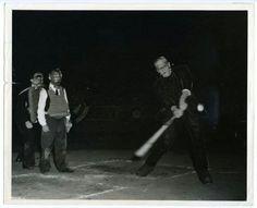 Boris Karloff and Buster Keaton