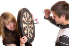 How High to Hang a Dart Board From Floor to the Bullseye visit www.GameTablesOnline.com