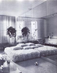 "insideinside: "" The power look at home: Decorating for men by Egon von furstenberg and karen fisher 1980 """