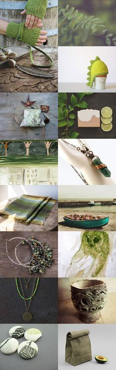 green mood by 3buu on Etsy--Pinned with TreasuryPin.com