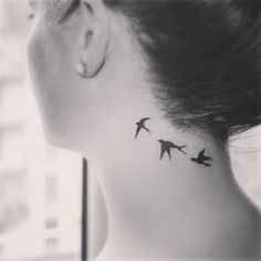 swallow tattoo #swallow