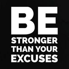 Be Stronger. #FitFam