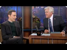 Jim Parsons' Football Binge - The Tonight Show with Jay Leno