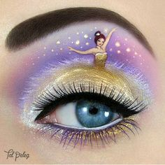 """Via @featuring_art ... Incredible Eye Make up by @tal_peleg :) #makeup"