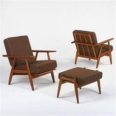 Hans Wegner Series 240 Cigar chairs and